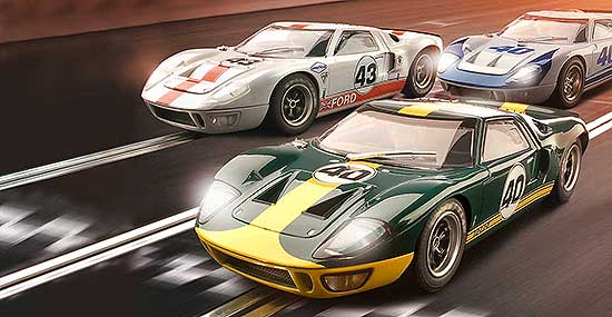 Fotodesign - Bildcollage Ford GT 40
